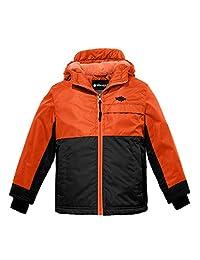 Wantdo Boy's Winter Coat Waterproof Mountain Fleece Ski Jackets Outdoors