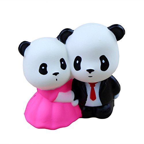 TRENTON Squishies Panda Angel Bear Cat Kawaii Soft Slow Rising Scented Stress Relief Kid Toys - Angels Soft Bear