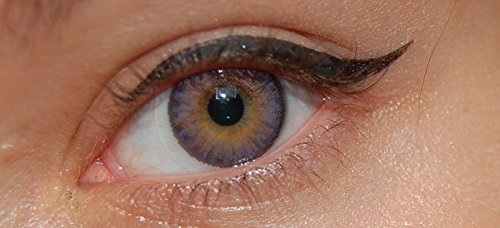 Beautiful Amethyst - Hazel Colored Contacts