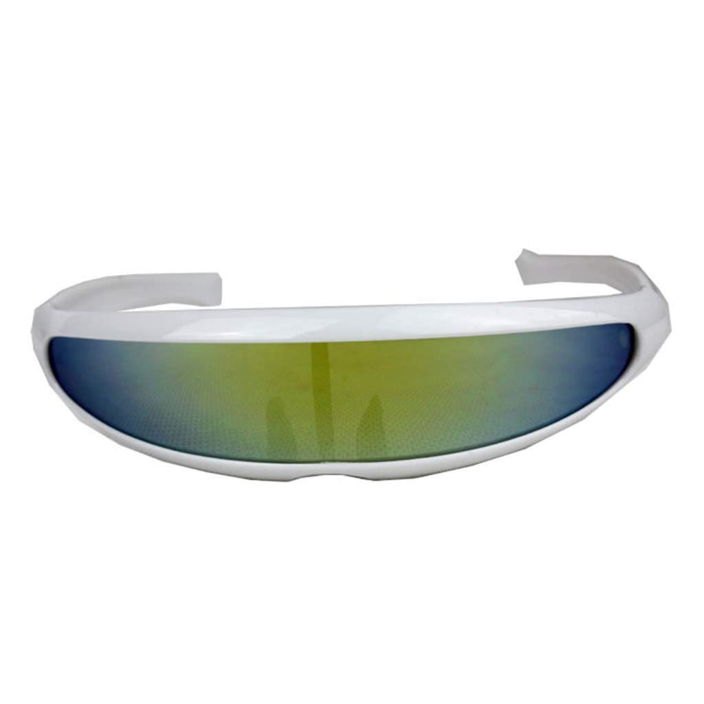 KCPer Sunglasses for Women Man Outdoor Fishtail Uni-Lens Riding Sports Cycling Glasses (D)
