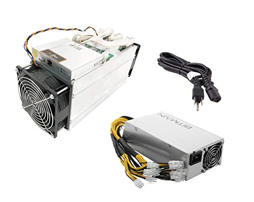 PC Hardware : Bitmain Antminer S9J ~14.5TH/s @ .097W/GH 16nm ASIC Bitcoin Miner Include Bitmain APW3++ PSU and Power Cord (S9J 14.5T+PSU)
