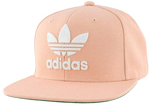 adidas Men's Originals Trefoil Chain Snapback Cap, Dust Pink/White, One Size