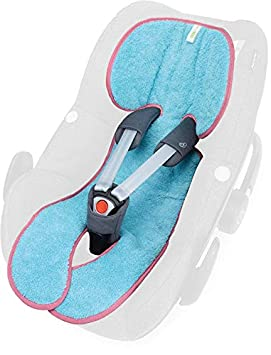 Design:Prisma mint seitlicher Kopfschutz verwendbar f/ür Sommer und Winter Priebes Sitzeinlage Tom f/ür Kindersitze Gruppe 1| waschbar /& atmungsaktiv einfache Befestigung