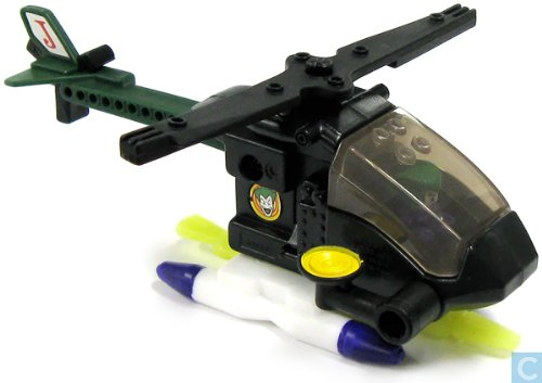 McDonald's 2008 Lego The Joker Helicopter Happy Meal Toy #2