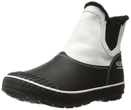 KEEN White Waterproof Women's Elsa Star Black Boot Chelsea rnqr8fwY