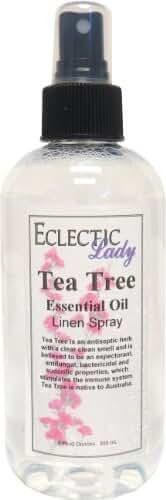 Tea Tree Essential Oil Linen Spray, 8 ounces