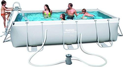 Bestway Frame Pool Power Steel Set, 404 x 201 x 100 cm