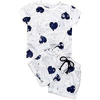 Lurryly 2018 New Baby Girls Kids Short Sleeve T-Shirt + Short Pants Outfits Clothing 2Pcs Set