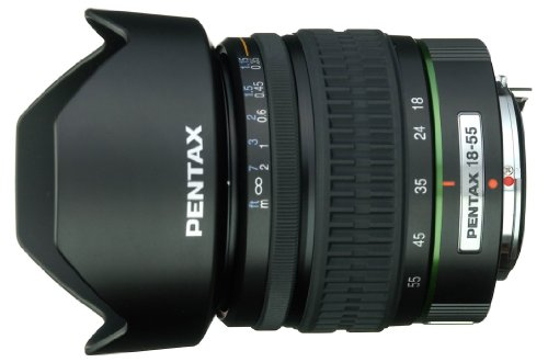 (Pentax DA 18-55mm f/3.5-5.6 AL Lens for Pentax and Samsung Digital SLR Cameras)