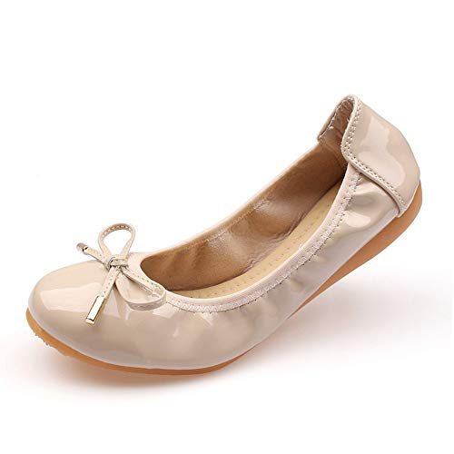 shoes flat shoes comfortable shallow slip foldable mouth dance fashion non Ladies shoes shoes casual EU FLYRCX 40 office maternity work xqwp7Y0v