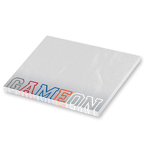 Game On Sports Adhesive Sticky Note Pack - 5 pads - 50 sheets / pad Photo #3