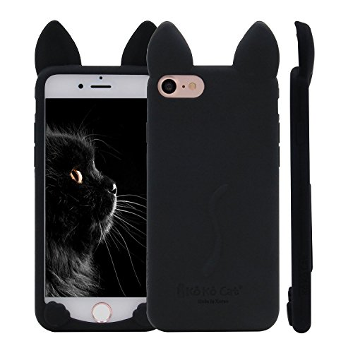 3D Cute Koko Cat Soft Silicone Cases for iPhone 6 4.7 back cover