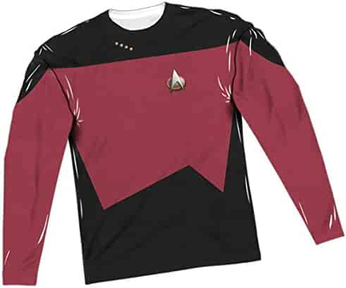e905b991 Red Uniform -- Star Trek: The Next Generation All-Over Long-Sleeve