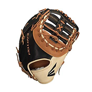 Image of EASTON PROFESSIONAL HYBRID Baseball Glove Series | 2020 | USA Chrome Tanned Horween Steer Hide Leather Palm + Lining | Lightweight Japanese Tanned Professional Reserve Steer Hide Leather First Baseman's Mitts