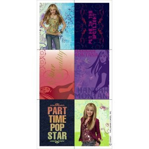 Hannah Montana Stickers Party Favors