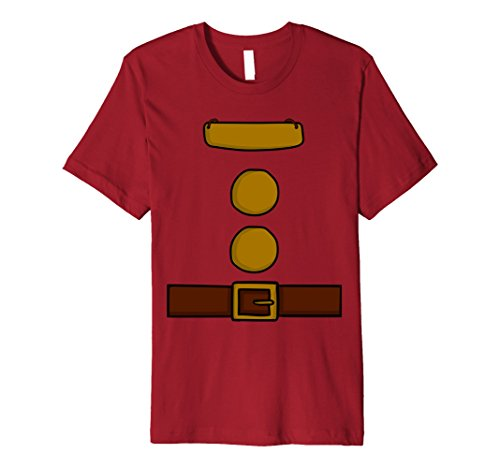 Mens Dwarf Halloween Group Costume Idea T-Shirt with name plaque Medium (College Costume Idea)