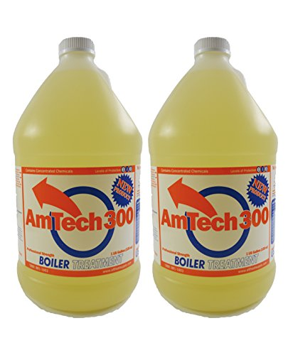 AmTech300 - Boiler Treatment Professional Strength (Rust Inhibitor For Outdoor Wood Boilers)