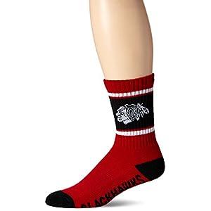 47 Brand Pittsburgh Penguins NHL Duster Colorblocked Men's Crew Length Socks