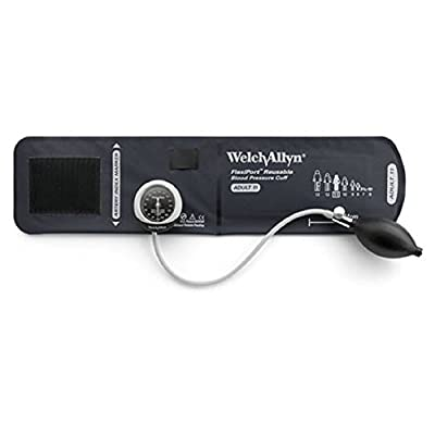 Welch Allyn DS45-11 Gauge with Durable One Piece, Adult Cuff
