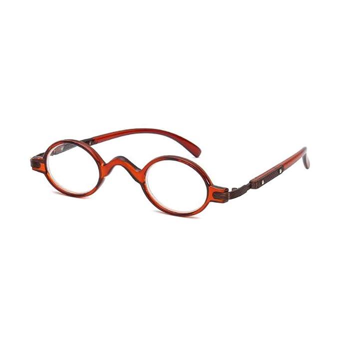 7fc785985d GEMSeven Gafas de lectura de marco redondo pequeño: Amazon.es: Ropa y  accesorios