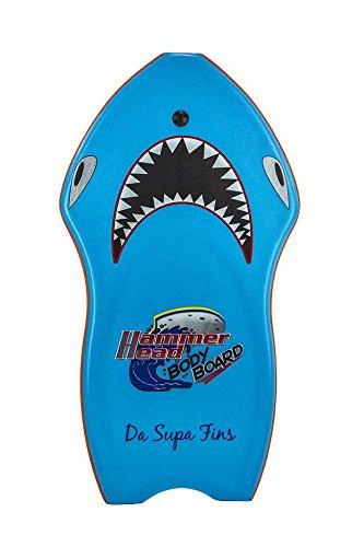 Hammerhead Bodyboard with Deluxe Leash & Stability Stringer – Hammerhead Logo