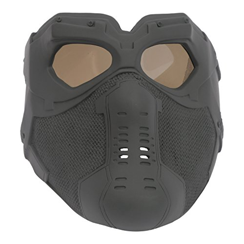 The Winter Cool Soldier Bucky Mask - V6 Glass DIY Version Party (Captain America Halloween Costume Diy)