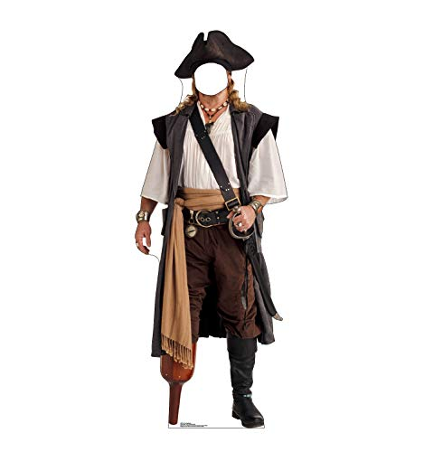 - Advanced Graphics Pirate Peg Leg Stand-in Life Size Cardboard Standup