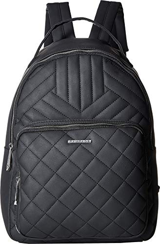 Rampage Womens Multi Quilt Dome Backpack Black One - Dome Quilted