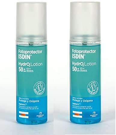 Amazon.com: 2x ISDIN FOTOPROTECTOR SOLAR HYDRO LOTION SPF 50+ HYDROLOTION 200ML TOTAL 400ml: Beauty