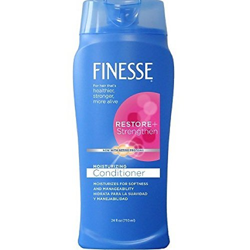 Finesse Moisturizing Conditioner 24 oz (Pack of 3) by Finesse