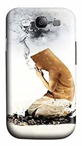 Samsung Galaxy S3 I9300 Cases & Covers - Smoking Is Harmful Custom PC Soft Case Cover Protector for Samsung Galaxy S3 I9300
