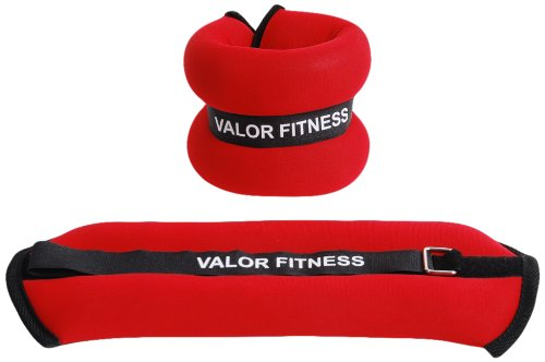 Valor Fitness EA-11 Ankle/Wrist Weight Pair, 3-Pound by Valor Fitness