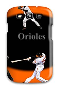 Premium Protection Baltimore Orioles Case Cover For Galaxy S3- Retail Packaging