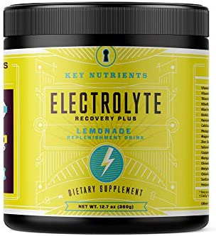 Electrolyte Powder Lemonade Hydration Supplement