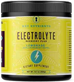 Electrolyte Powder, Lemonade Hydration Supplement: 90 Servings, Carb, Calorie & Sugar Free, Delicious Keto Replenishment Drink Mix. 6 Key Electrolytes - Magnesium, Potassium, Calcium & More.