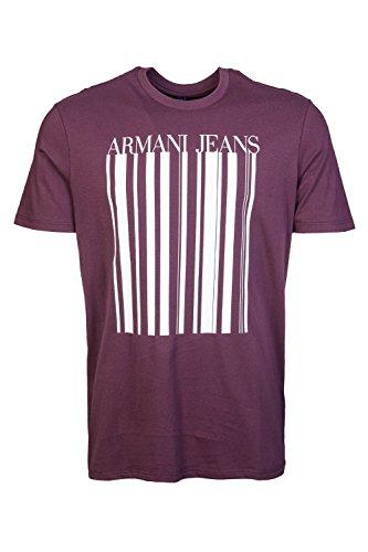 Armani, Camiseta para Hombre Rosso