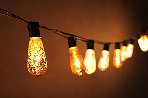 Joyin-10-Ft-Set-of-10-Mercury-Glass-ST40-Edison-Style-Holiday-UL-Listed-Commercial-Quality-String-Lights-for-Indoor-Outdoor-Use-End-to-end-Unique-light-set-has-a-crackled-finish-creating-the-look-of-m