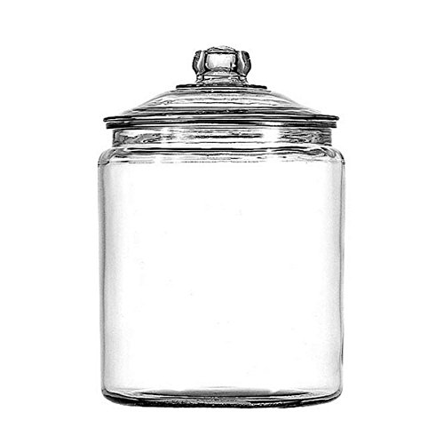 Save Your Goods And The Planet At The Same Time With This Anchor Hocking 1-gallon Heritage Hill Jar