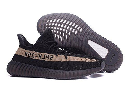 Levi Clare Boost 350 V2 Gebreide Ademend Sneakers Mannen Sportschoenen Loopschoenen Zwarte Sneaker Serie Geel