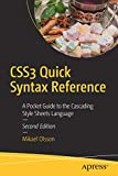 CSS3 Quick Syntax Reference: A Pocket Guide to
