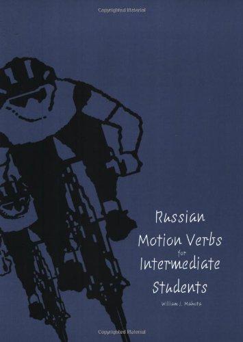 Russian Motion Verbs F/Intermed.Stud.