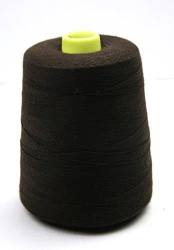 Crispy Dark Brown Hair Weaving Threads 2187 Yard to 3280 Yard (2000 Meter)