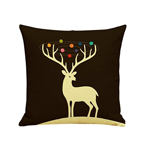 [LUNIWEI Pillow Case Christmas Home Decor Bed Sofa Cushion Cover(No Pillow Insert)] (Car Wash Costume Ideas)