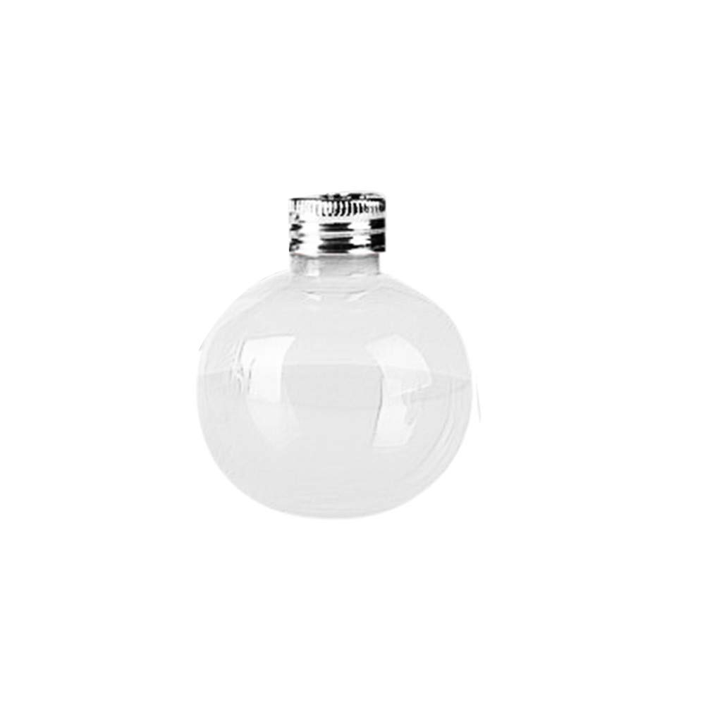 Littleice 1/6 Pack Booze Filled Christmas Tree Ornaments Water Bottle Milk Juice Bulbs Cup (1PC)