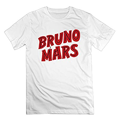 2016 Newest Bruno Mars Special Short Sleeve Scoop Neck Tee For Man's