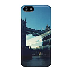 High Impact Dirt/shock Proof Case Cover For Iphone 5/5s (london Love)