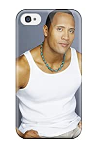 New Dwayne Douglas Johnson Tpu Case Cover, Anti-scratch TYyDdSX18047sYeWg Phone Case For Iphone 4/4s