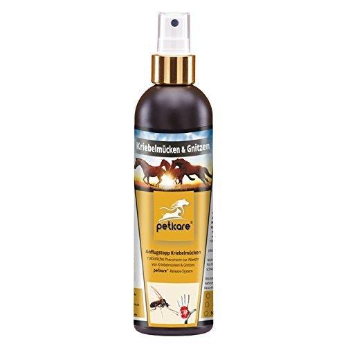 100-ml-Rpulsif-mouches-noires-Chevaux-Doux-Dmangeaison-simulies-darrt-d-approche