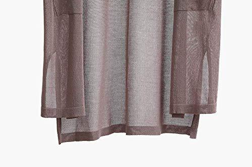 Fashion Longues Cardigan A Saoye Legere Femme dt6qxOdwY