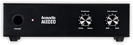 Acoustic Audio WS1005 Passive Subwoofer Amp 200 Watt Amplifier for Residence Theater